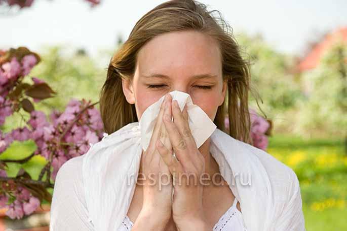 Аллергия у взрослых - бронхит