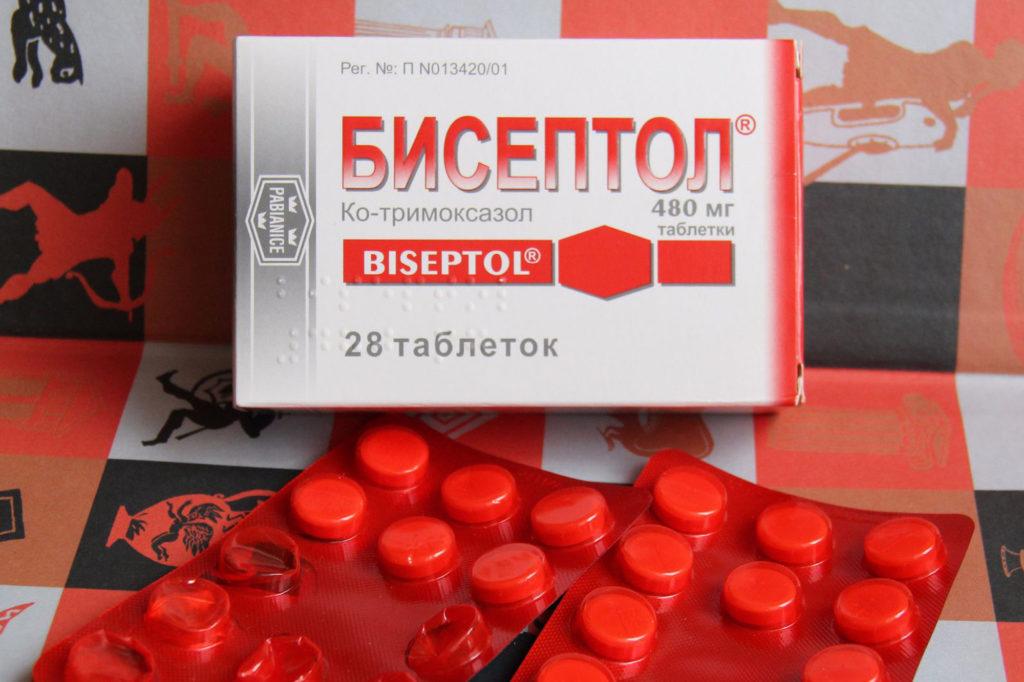 Бисептол при лечение бронхита
