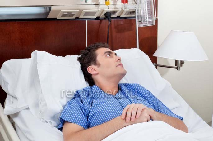 Лечение в больнице бронхита