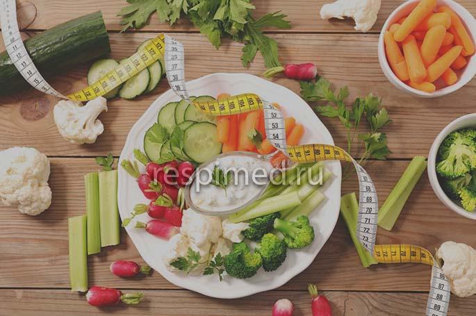 Особенности питания при бронхите