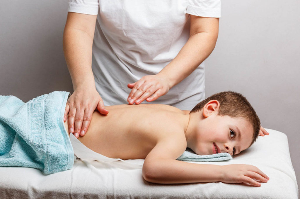 Важность массажа у детей
