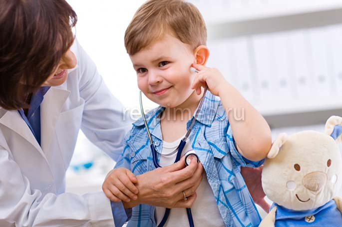 Пневмония у детей без температуры