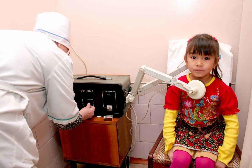 Процедуры для детей