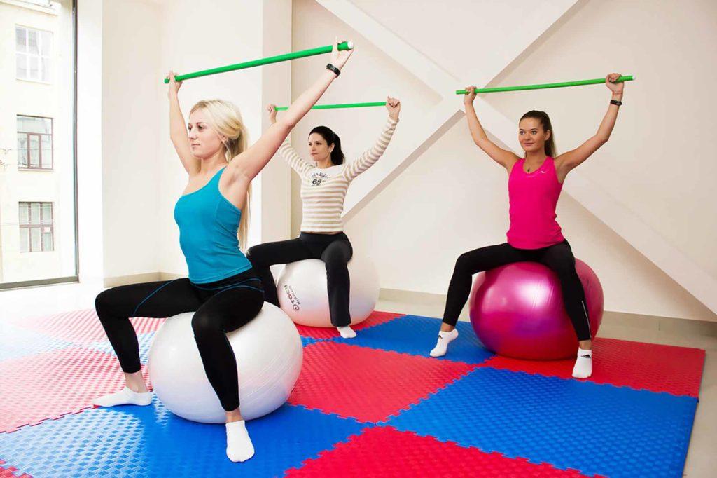 Лечебная гимнастика при правосторонней