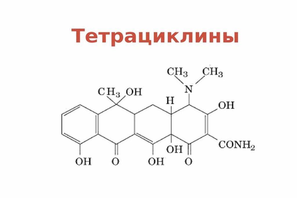 Использование тетрациклинов