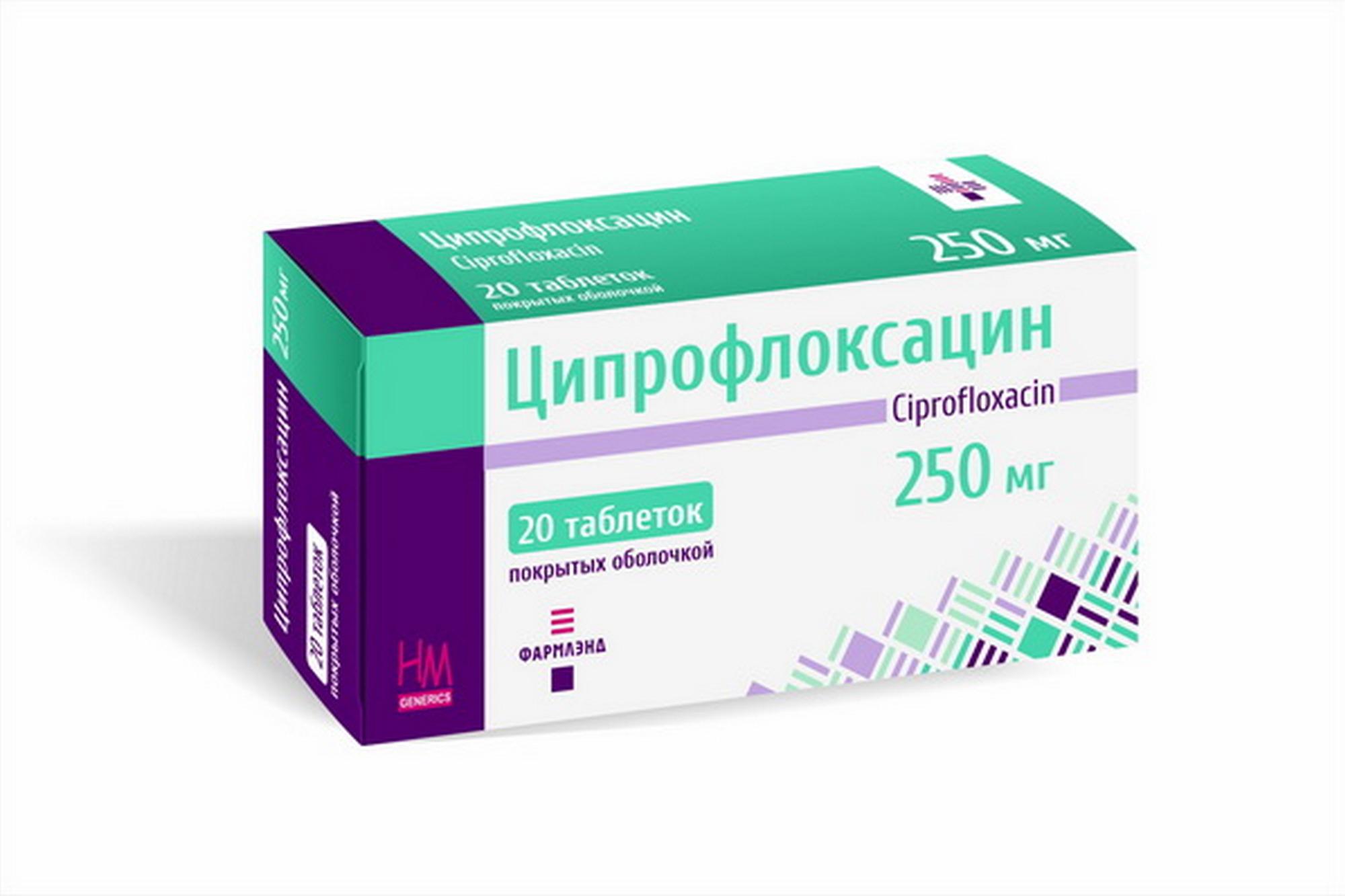 Ципрофлоксацин: применение при бронхите