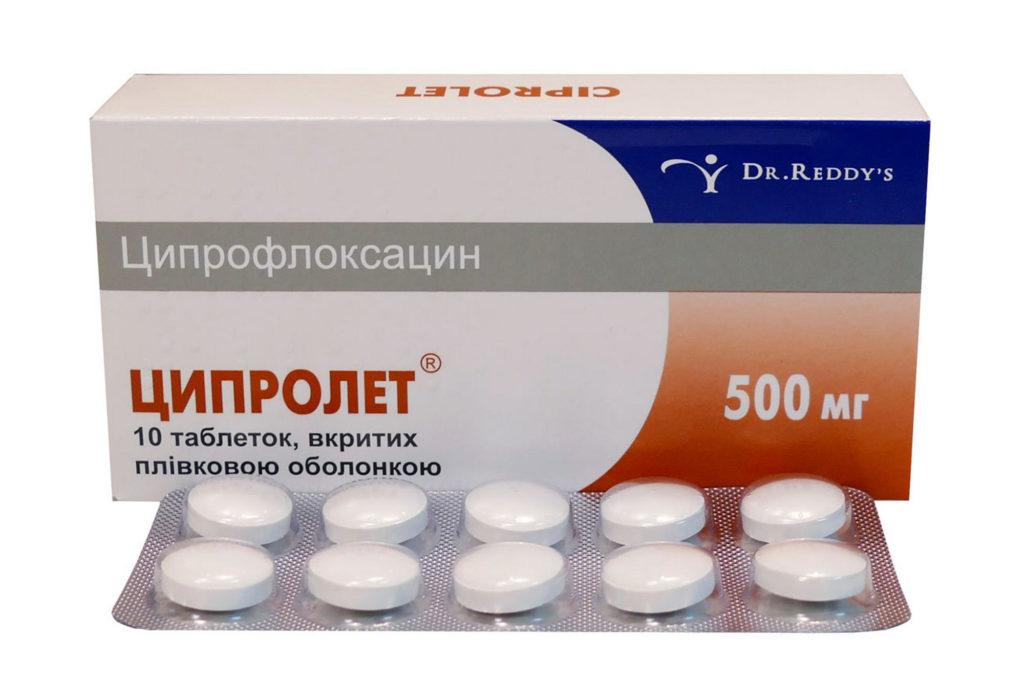 Состав препарата ципролет