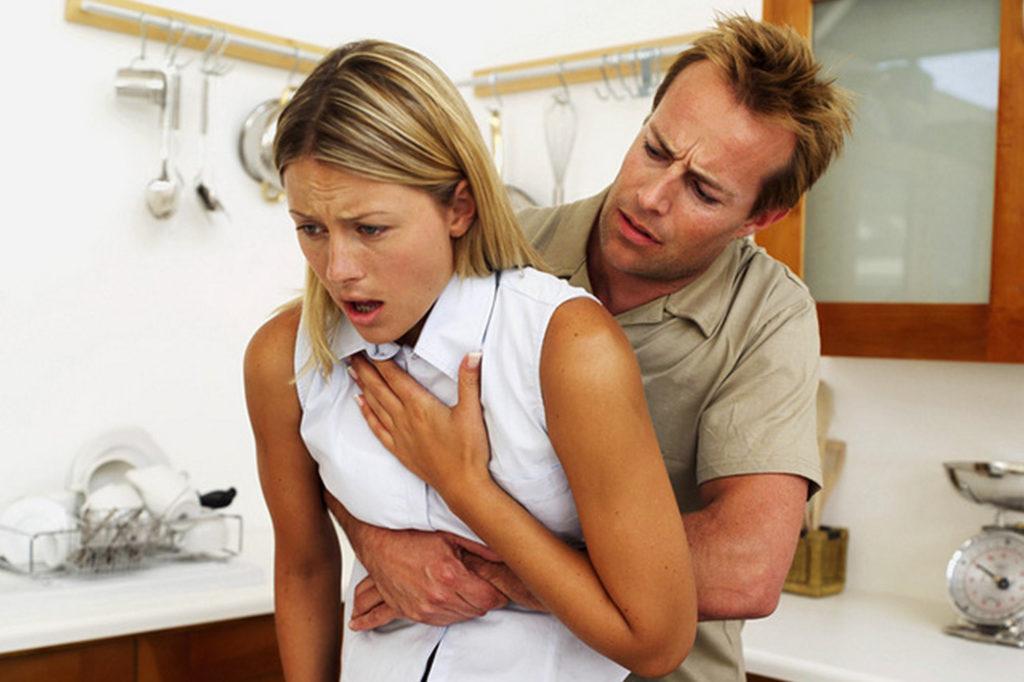 Диагностика инородного тела трахеи