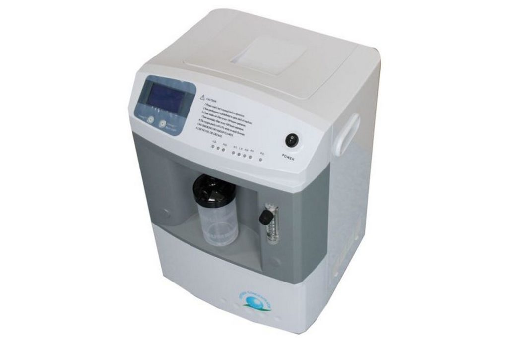 Принцип работы кислородного концентратора Jay-10