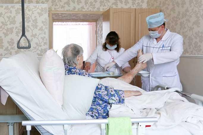 Помощь паллиативным больным в медицине