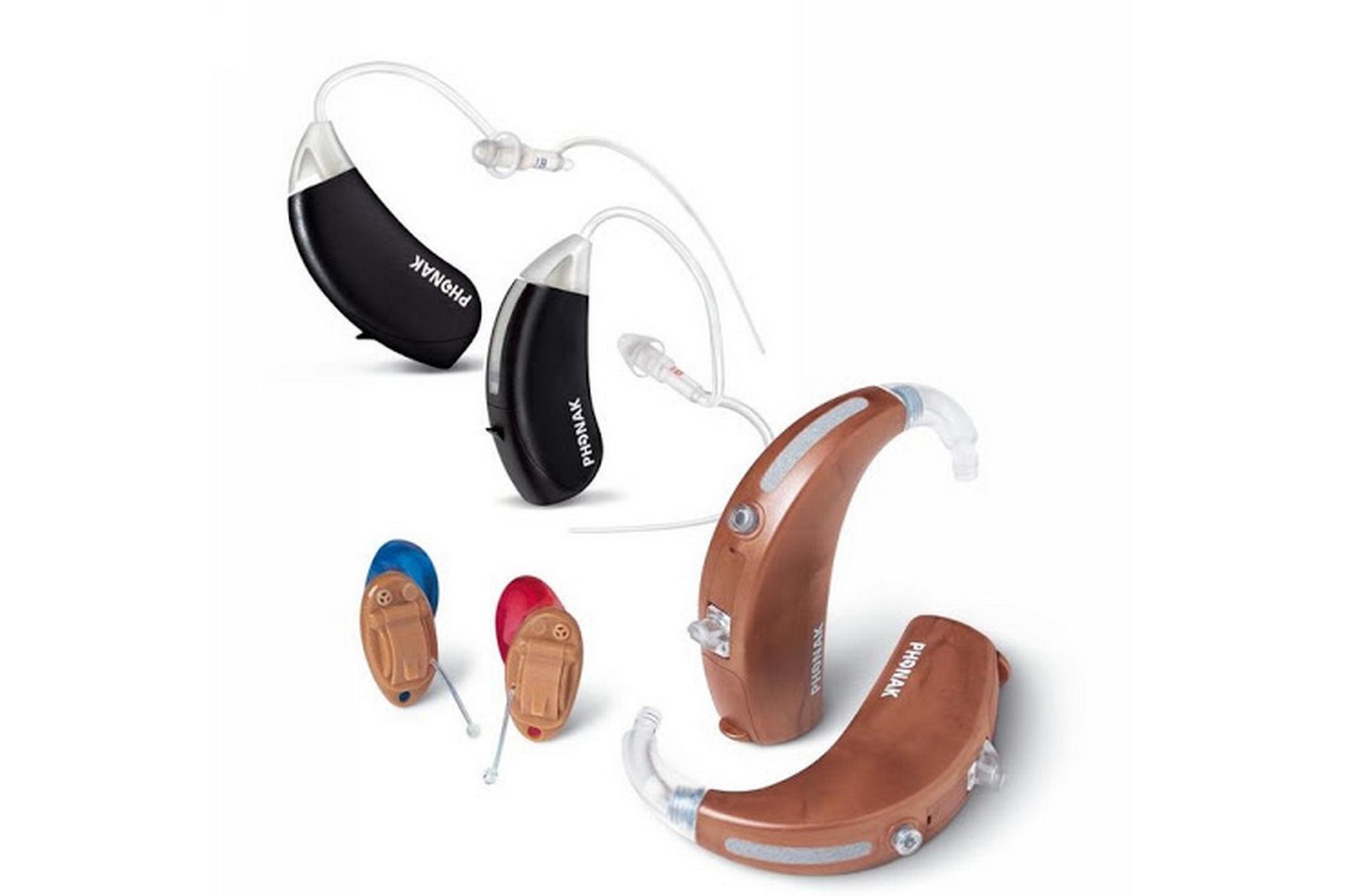 Разновидности слуховых аппаратов