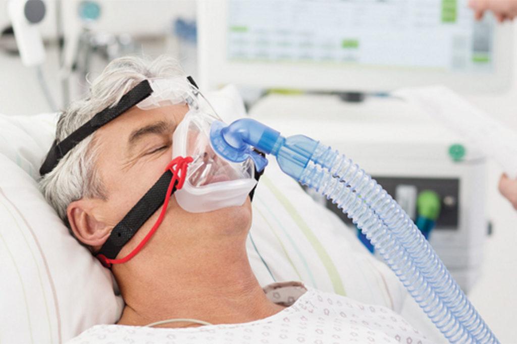 Принцип вспомогательной вентиляции легких