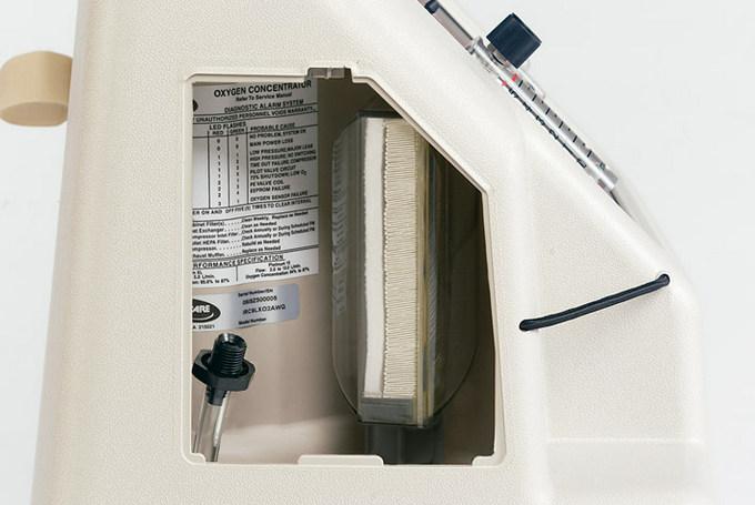 Технические характеристики кислородного концентратора Invacare Platinum 9