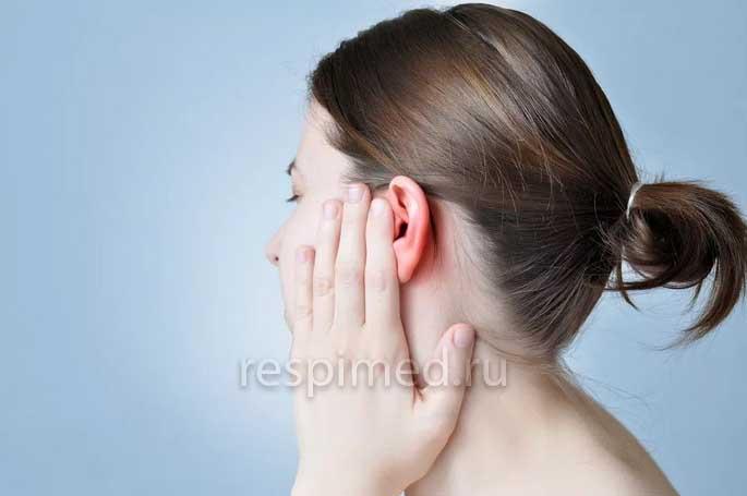Как развивается боль в ушах